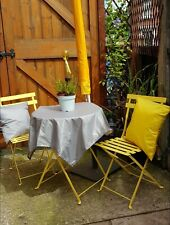 Outdoor Waterproof Table Cloth With Grip Lining (any size)