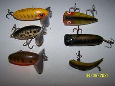 3 Jitter Bugs-1 Heddon Chugger Jr.-2 Unbranded ,Fishing Luresh