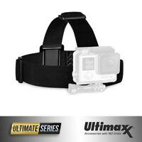 GoPro HERO7 6 5 4 3+ 3 Elastic Adjustable Head Strap Mount Belt Headband
