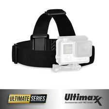 GoPro HERO8 7 6 5 4 3+ 3 Elastic Adjustable Head Strap Mount Belt Headband