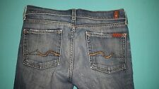 "7 For All Mankind ""Bootcut"" Women's Jeans size 28, inseam 30"
