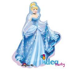 PALLONCINO mylar PRINCIPESSE Disney CENERENTOLA 84 cm Addobbi Feste Compleanno