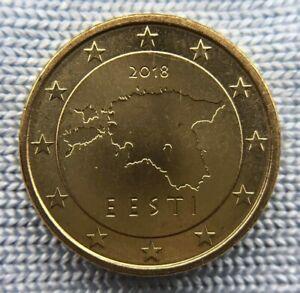 Estonia 10 euro cent  2018 UNC