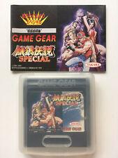 Fatal Fury Special (Garou Densetsu Special) Game Gear Spiel Kassette mit Hülle &