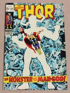 Thor #169 - The Mighty Origin Galactus Marvel Comics