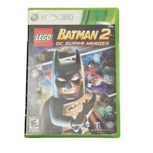 Microsoft Xbox 360 Batman 2: DC Super Heroes Video Game (Complete, 2012)