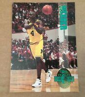 CHRIS WEBBER ROOKIE 1993 CLASSIC 4-SPORT JUMBO BOX CARD MICHIGAN