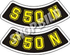 Aufkleber Simson S50N