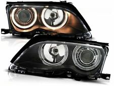 BMW 325i 330i E46 SEDAN WAGON 2001 2002 2003 2004 2005 LPBM86 HEADLIGHTS HALO