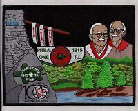UNAMI LODGE ONE 1 CRADLE LIBERTY FLAP OA 100TH 2015 NOAC JACKET PATCH 200 MADE