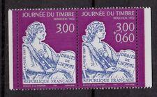 * x2 Timbres (Neuf**MNH TBE) 1997 JOURNÉE DU TIMBRE n°3051 + 3052 (Paire)