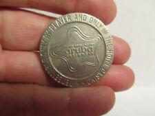 $1 METAL GAMING SLOT TOKEN - 1966 - ARUBA CARIBBEAN HOTEL & CASINO