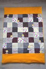 Krabbeldecke Babydecke Kuscheldecke Decke Geburt Taufe bunt ca. 100 cm x 70 cm
