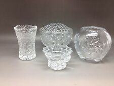 Small Collection of Cut Glass