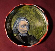 FRANZ LISZT Jam Jar Lid Portrait, New Orleans Outsider Folk Art by PETER ORR