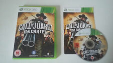 CALL OF JUAREZ THE CARTEL - MICROSOFT XBOX 360 - JEU X BOX 360 COMPLET UK