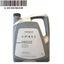 Original Skoda VW Motoröl 0W-30 50400 50700 LongLife III FE 5 Liter GS55545M4EUR
