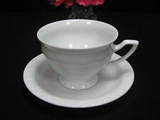 Altes 2tlg. Rosenthal classig Maria weiss Porzellan Kaffeegedeck Gedeck Tasse