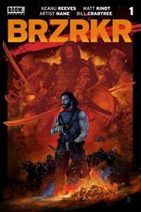 (2021) Keanu Reeves Brzrkr (Berzerker) #1 VANCE KELLY Variant Cover! 750 Made
