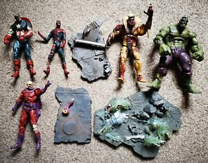 Diamond Marvel Select zombies Full Collection, Captain America, Spider-Man, Hulk