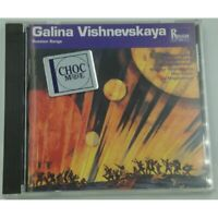 GALINA VISHNEVSKAYA russian songs MUSSORGSKY/STRAVINSKY CD 1993