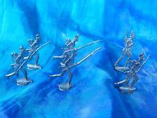 Plats d'étain - flat tin - zinnfiguren : 6 soldats prussiens guerre de 1870.