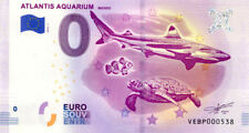 ESPAGNE Madrid, Atlantis Aquarium, N° de la 6ème, 2018, Billet 0 € Souvenir