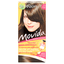 Movida Crema Shampoo Colorante 25 Castano Chiaro