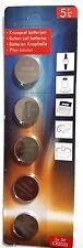 5 CR2032 Batterien 3V Lithium Knopfzelle f. Led Teelicht Led Teelichter