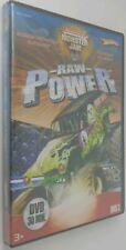 Hot Wheels Monster Jam Raw Power DVD! Max Destruction, King Krunch, Blacksmith!