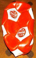 COCA COLA 1994-1997 VIP MEMBERS LARGE SOCCER BALL STILL IN RELEASED BAG COKE