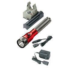 Streamlight 75612 Stinger LED Rechargeable Flashlight w/ PiggyBack - Red