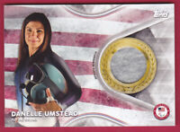 2018 Topps U.S. Olympic Team USA Memorabilia Pieces #TMCDU Danelle Umstead