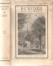 Burford Past and Present by M. Sturge Gretton revised 1929 pub Martin Secker