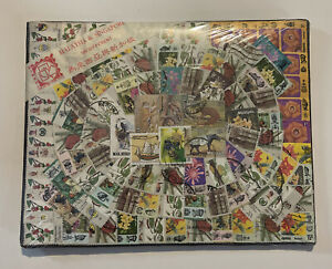 STAMPS-100 MALAYSIA & SINGAPORE-COLLECTI0N-VINTAGE.