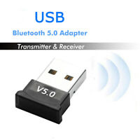 USB bluetooth 5.0 Adapter Wireless Dongle Stereo Receiver for PC Win 10 8 7/XP-