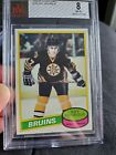 1980-81 O-pee-chee Hockey #140 Ray Bourque Rookie Boston Bruins RC OPC BVG 8