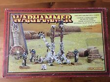 Undead Tomb Kings Screaming skull catapult New boxed Khemri Metal Warhammer OOP