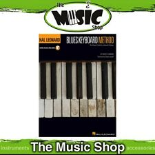 New Hal Leonard Blues Keyboard Method Music Tuition Book with Online Audio OLA