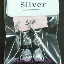 925 sterling silver Ribbon Cat earrings round Lovely charm fashion free shipping