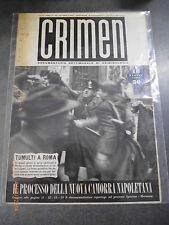 CRIMEN - Documentario settimanale di criminologia - n° 16/1947