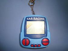 Car Racing Keychain Electronic Handheld Travel Game  Pocket Size Awesome Cool