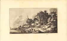 Franz Edmund Weirotter - A Cottage Radierung London Hamerton