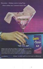 PUBLICITE ADVERTISING 2004  ALLDAYS extra dry hygiène féminine
