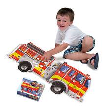 Melissa & Doug Giant Fire Truck Floor Jigsaw Puzzle,24pcs. NEW in BOX