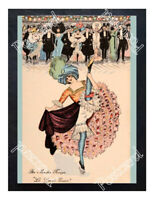 Historic Moulin Rouge Nightclub 1900s Advertising Postcard 2