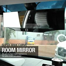 Universal Super Wide Rear View Curve Room Mirror Glass 300mm for All Vehicle