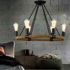 Large Chandelier Lighting Kitchen Ceiling Lamp Bar Home Vintage Pendant Light