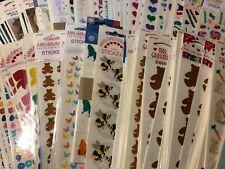 RARE Choose 1 Vintage Package Pack Mrs. Grossman's Grossman Stickers Bear Heart
