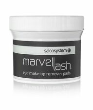 Salon System Marvelash Eye Make-up Remover Pads (75) Oil Free Prepares Lashes